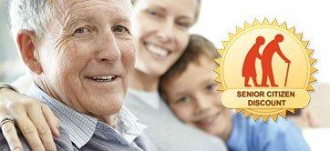 Senior Citizen Discount Logo